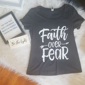 🚨🚨 5/$10 Faith Over Fear Tee 🚨🚨